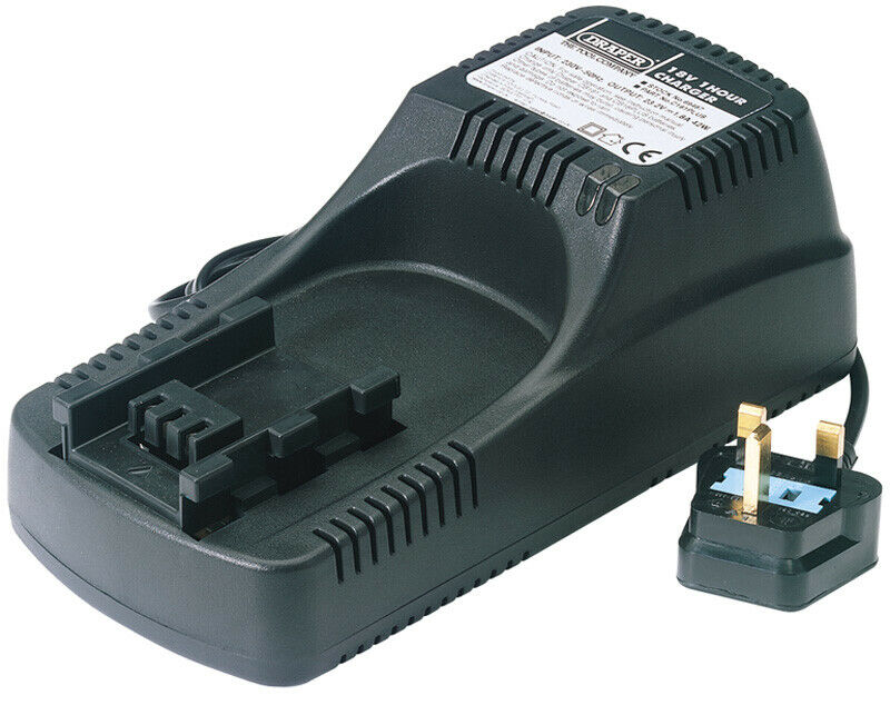 DRAPER Expert Charger for 18V Batteries Nos 69456, 69458 and 79412   69487
