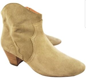 ISABEL MARANT WOMAN BOOTS ANKLE SUEDE