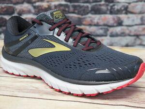 Para-hombres-Brooks-Adrenaline-GTS-18-Negro-Oro-Rojo-Running