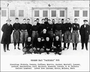 1919-Green-Bay-Packers-Photo-8X10-Curly-Lambeau-Buy-Any-2-Get-1-FREE