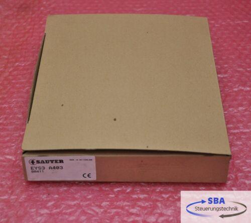 SAUTER Power Supply Régulateur Type eys3 a403 article neuf dans emballage d/'origine!