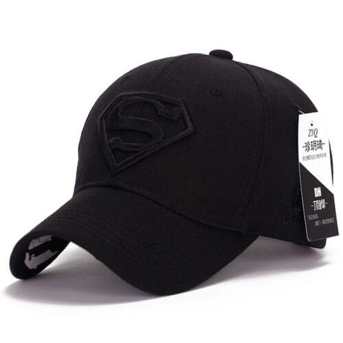 Kids Girl Boy Superman Hip-hop Dance New Hat Baseball Cap Adjustable Snapback