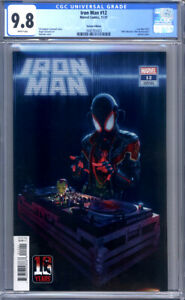 Iron Man #12 Rahzzah Miles Morales Variant Bruce Lee DJ Homage 1st Print CGC 9.8