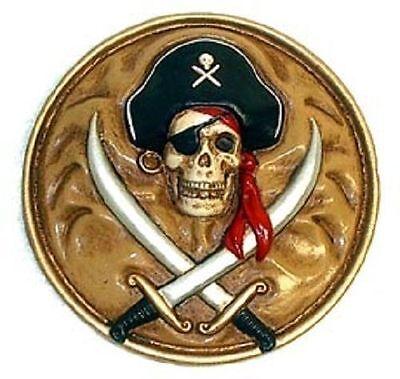 MPC - PIRATES OF THE CARIBBEAN 1972 resin Disneyland Pirate Plaque 161HM06