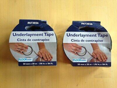 FloorComfort 4-in x 4-in x 2-in Underlayment Tape Moisture Proof Seaming Tape