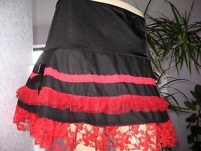 NEW Girls Pink Black White Spotted Tutu skater Skirt Punk Rock Gift Party Dance