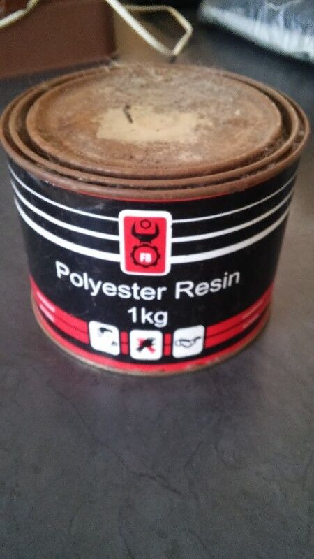 Polyester Resin in tub