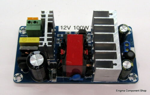 HamRadio UK Seller-Fast Dispatch 100W Switched Mode Power Supply Module 12V