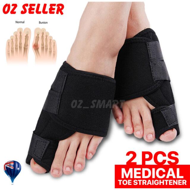 Unisex Big Bunion Straightener Toe Pain Relief Orthotics Hallux Valgus Corrector