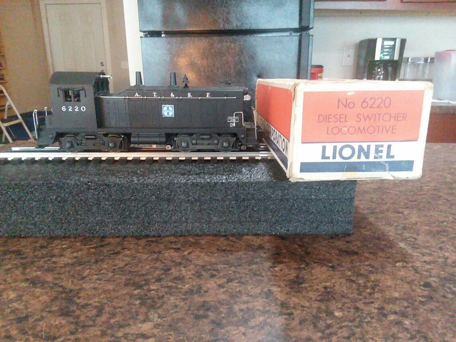 Lionel Train Santa Fe NW-2 Diesel Switcher No. 6220 W Box& insert  Item