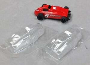 HO-Slot-Car-Parts-Sprint-Car-Clear-Lexan-Lot-of-2-for-Tomy-SG-Viper-BSRT