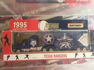 Matchbox-WR-1995-Team-Collectibles-Texas-Rangers-Rare-New-in-Box