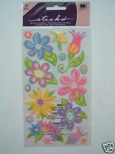 STICKO-STICKERS-FANCIFUL-FLOWERS-daisy-floral