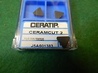 2 Ceratip Tpg 223 T00320 Ceramic Inserts
