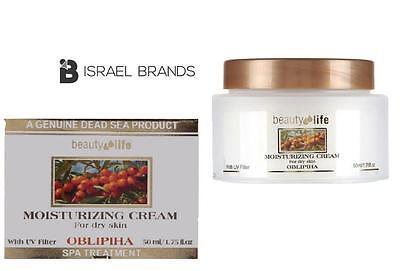 New Aroma Dead Sea Oblipiha Moisturizing Cream Dry skin minerals face skin ml