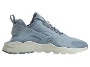 Nike Air Huarache Run Ultra Womens 819151-402 Blue Grey Running ... c4c05a4e93