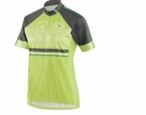 LOUIS-GARNEAU-Green-Medium-WOMEN-039-S-LIMITED-SHORT-SLEEVE-CYCLING-JERSEY
