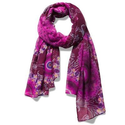 DESIGUAL donna foulard Pashmina Sciarpa Scialle FULAR Galactic 18 WAWW 50//3004