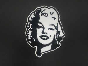Parche-Marilyn-Monroe-Vintague-Rockabilly-patch-Iron-Sew-Sexy-classic-planchar