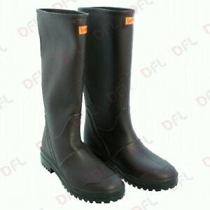 Dettagli su Stivali da lavoro ginocchio n 38 impermeabile antiscivolo in gomma caccia pesca
