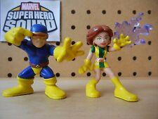 Marvel Super Hero Squad COMPLETE Wave 11: CYCLOPS & MARVEL GIRL of X-Men