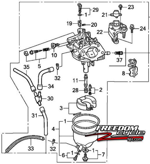 34 Honda Eu3000is Parts Diagram