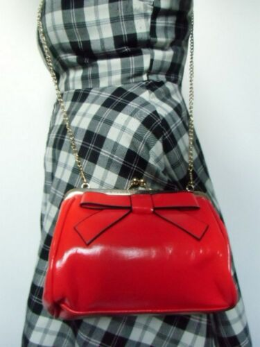 Pinup Inspired Handbag Retro Pinup Red Retro C5wq1xIYE