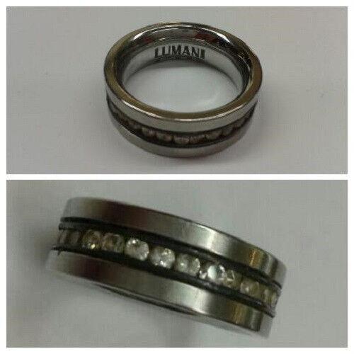 Bellissimo ampio anello in acciaio inox inox inox lumani dimensioni 52 5 64aa7d