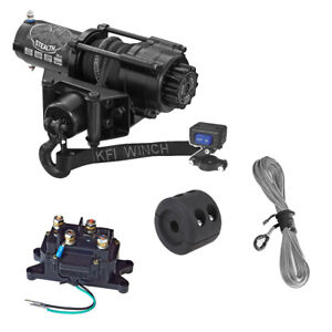 KFI-SE25-Stealth-2500lb-Winch-with-Mount-For-1996-2001-Arctic-Cat-400