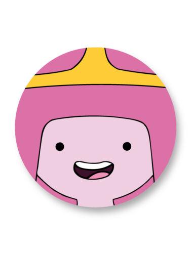 "Pin Button Badge Ø25mm 1/"" Adventure Time with Finn /& Jake Princess Bubblegum"
