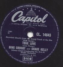 Bing Crosby und Grace Kelly im Film  High Society : True Love