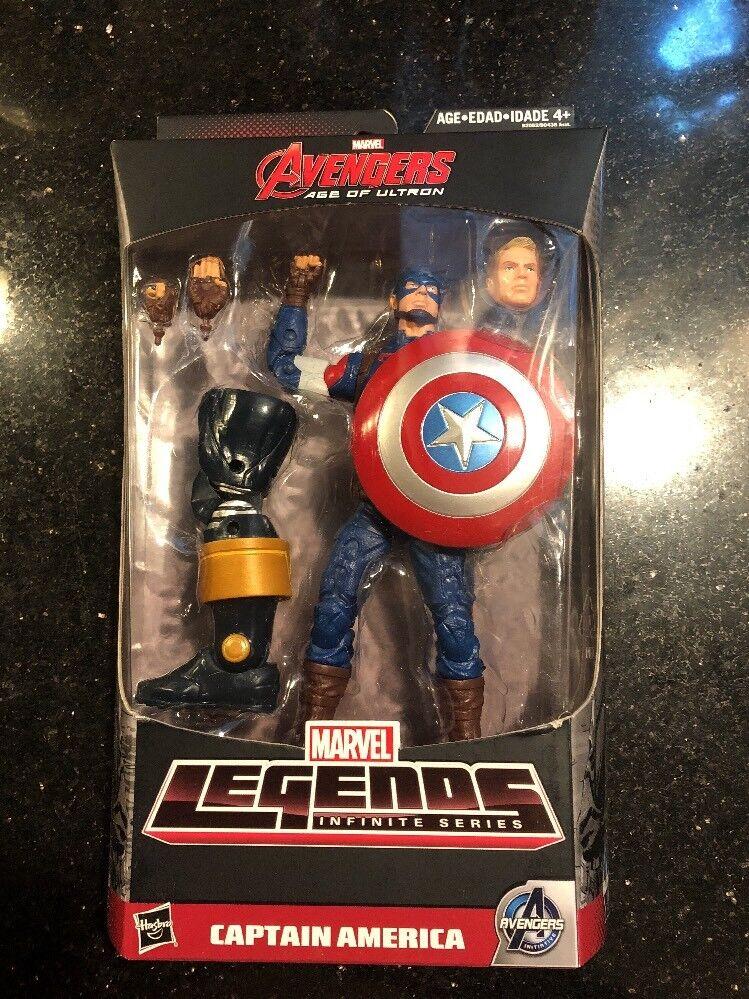 Marvel - legenden unendliche serie captain america hp abbildung avengers thanos baf