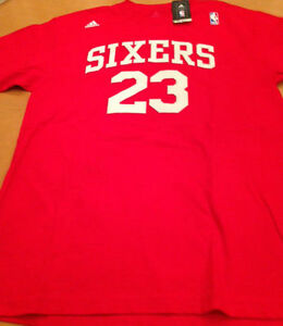 check out 77f22 d181f Details about ADIDAS/NBA Philadelphia 76ers Lou Williams T-Shirt New w/Tags  Mens Size Large