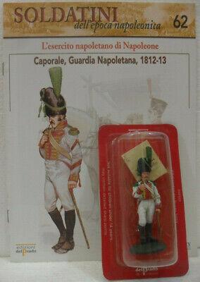 """Soldatini Napoleonici In Piombo """"caporale, Guardia Napoletana, 1812-13"""" C/fascic Adatto Per Uomini E Donne Di Tutte Le Età In Tutte Le Stagioni"""