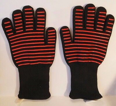Grilling BBQ Gloves Heat Resistant Cooling Tech Oven Gloves Kitchen Glove