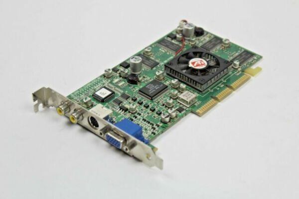 ATI RADEON 64MB AGP VIDEO//GRAPHICS CARD 109-70700-01 1027070300