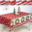 Christmas-Printed-Tablecloth-Xmas-Party-Kitchen-Dining-Table-Cover-Decor-150-180 thumbnail 1