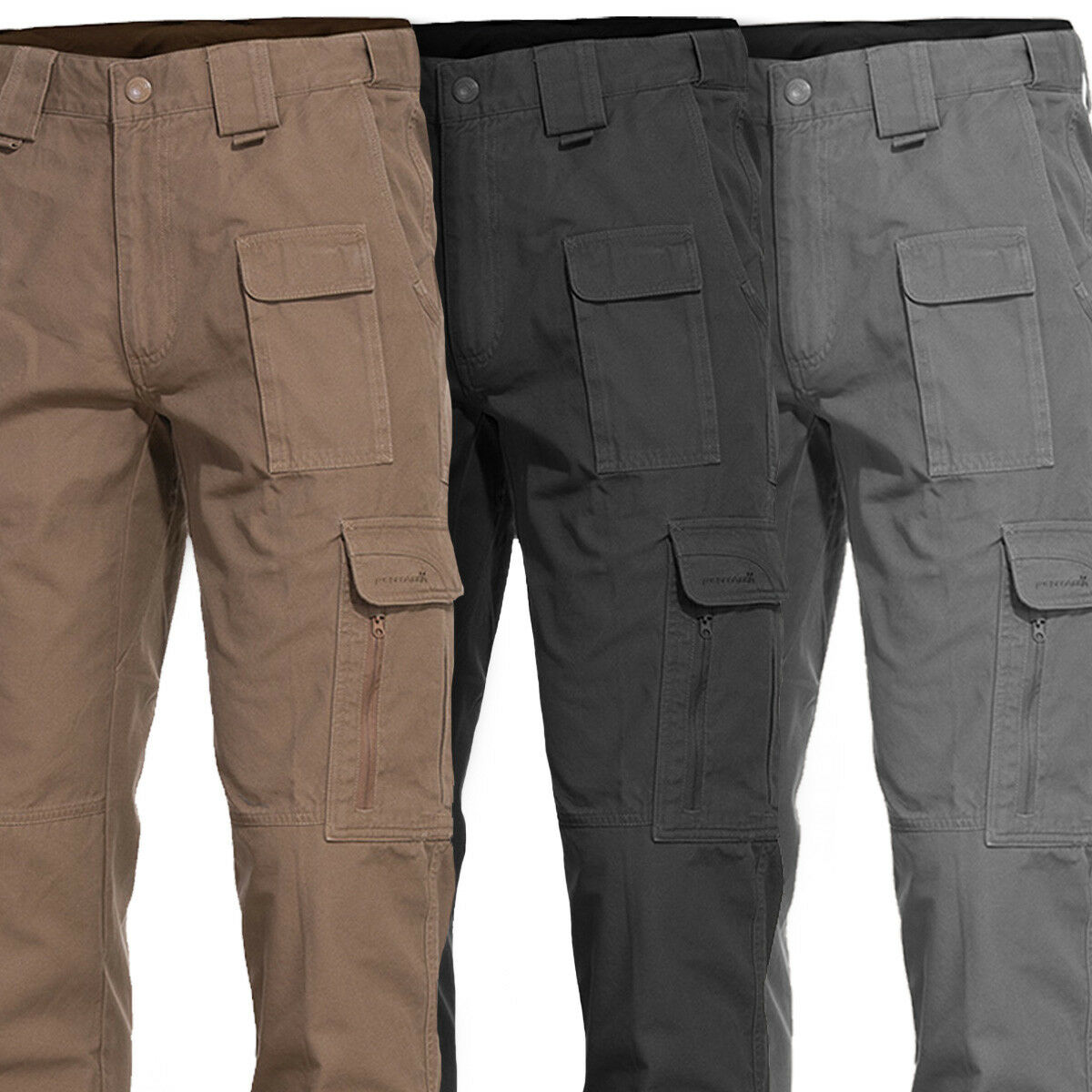 Pentagon Elgon 2.0 Heavy Duty Cotton Tactical Military Army Cargo Trousers Pants