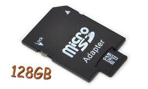 *** NEU NEU NEU*** 128GB micro SD-Speicherkarte Class10 incl. Kartenadapter