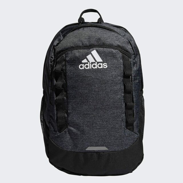 adidas Mens and Womens Excel V Backpack - Jersey Black/black for ...