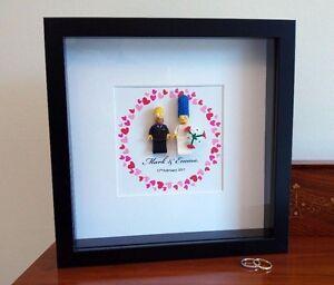 Unique Personalised Simpsons Lego Wedding Anniversary
