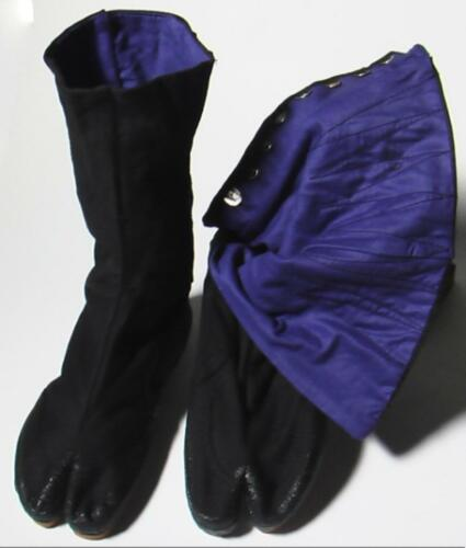Tabi Boots and Tabi Socks Set - 12 Fastener Tall
