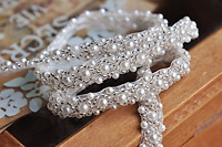 Queendream Crystal Trim, 2 Yard Rhinestone Trim