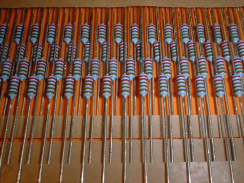 100x 2,21 kOhm 0,6 Watt 1/% Metallschicht Widerstand BF0207 Beyschlag