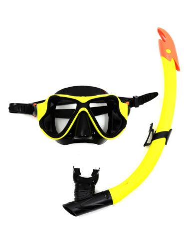 Kinderbadespaß tbf 2-teilig X-Tauchgang silikon Maske & Standard/Trocken Schnorchel set