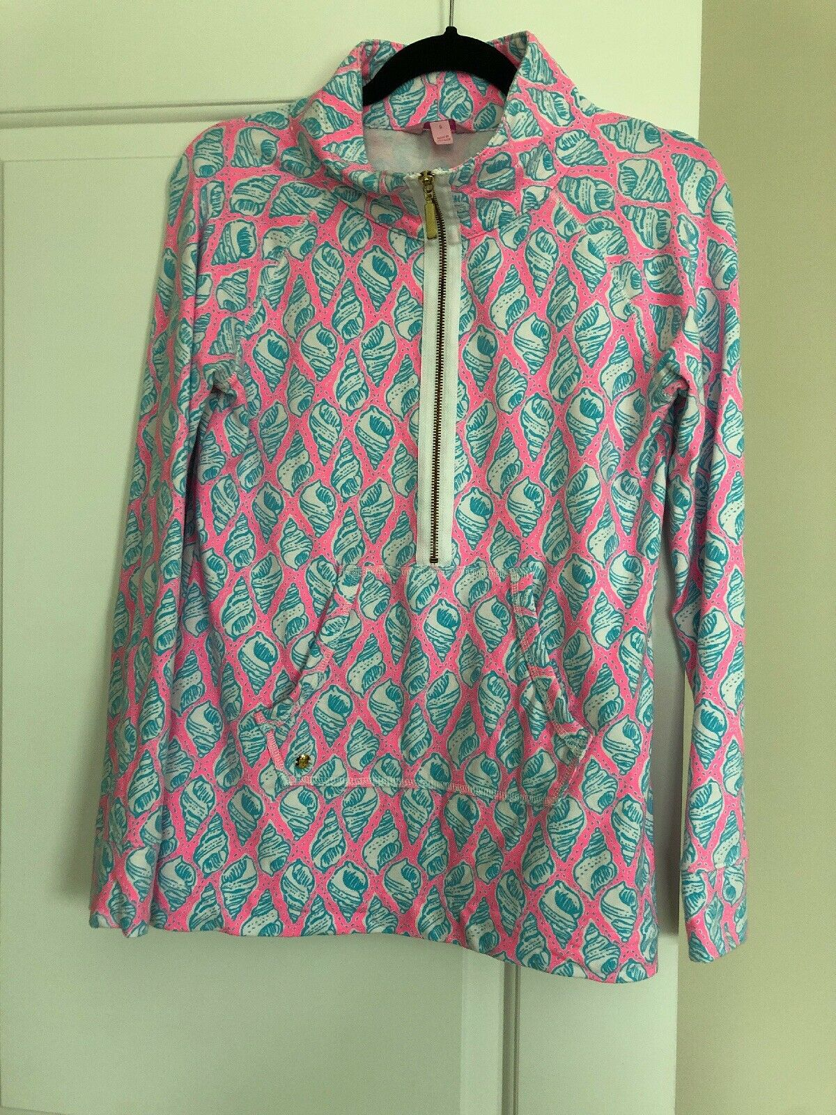 Lilly Pulitzer Skipper Popover Cosmo Rosa A Little Tipsy Rare Holy Grail Small