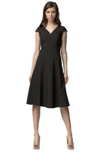 bbcff985e03 Das Bild wird geladen Damen-Kleid-A-Linie-Sommerkleid-Partykleid -Abendkleid-Cocktailkleid-