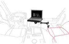 KFZ Universal Notebook Halterung - Auto LKW Netbook Laptop - Infuu Holders 001
