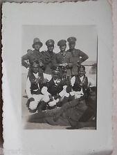 Vecchia foto Truppe coloniali Italiane GUARDIA D ONORE ARABA BENGASI 1937 Libia