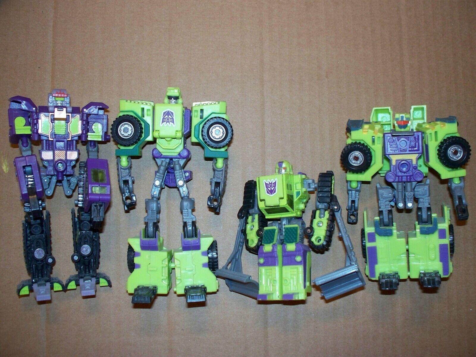 Transformers-Conjunto de cuatro Decepticon constructicones